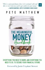'The Meaningful Money Handbook' Book cover