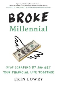 Book cover for 'Broke Millennial'